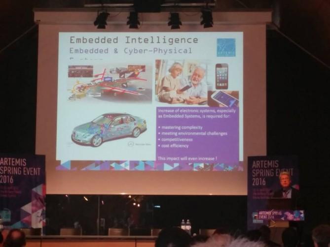 Artemis Spring Event 2016 - Embedded Intelligence