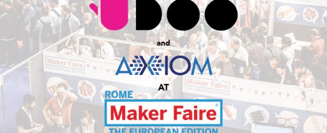 UDOO and axiom Maker fair-01